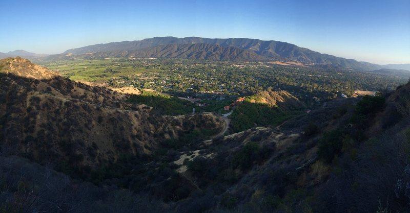 Rock Climbing Photo: The Ojai Valley.