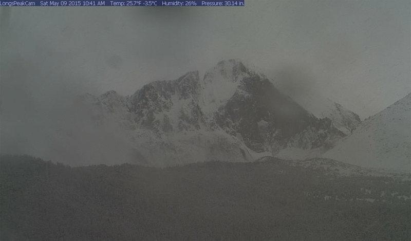 Long's Peak, 5/9/15.