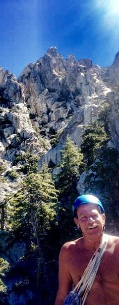 Rock Climbing Photo: JR and the Pillars of Creation!!!