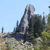West Arete route topo