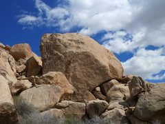 Rock Climbing Photo: Herman Rock, Joshua Tree NP