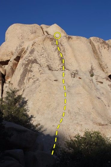 Trivial Pursuit (5.7 R), Joshua Tree NP