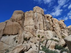 Rock Climbing Photo: Sinagar Rock, Joshua Tree NP