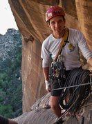 Rock Climbing Photo: Top of pitch 4, Dark Shadows (5.8), Red Rocks, NV