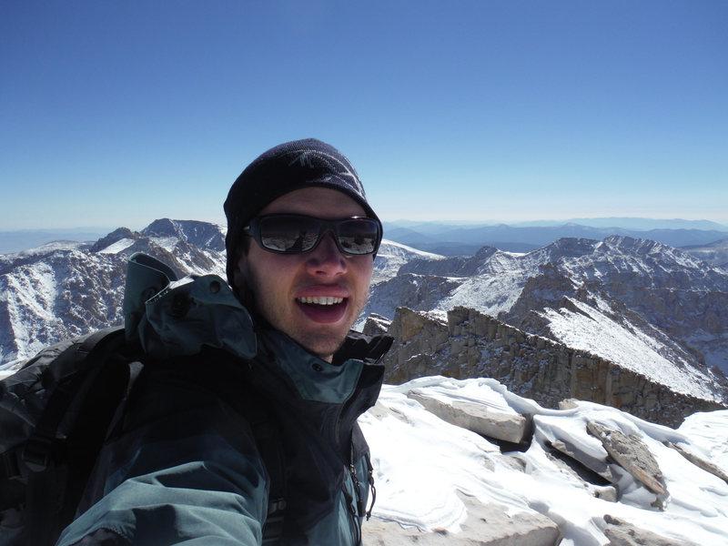 Summit of Mt. Whitney.