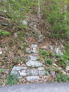 Rock Climbing Photo: Welcome to the Gunks approach trail. The next trai...