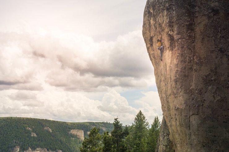 Rock Climbing Photo: Happiness in Slavery, Ten Sleep canyon