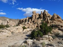 Rock Climbing Photo: The more broken west end of North Dakota Dome, Jos...