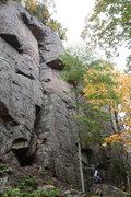 "Rock Climbing Photo: ""The Success of Sully's Bride""."
