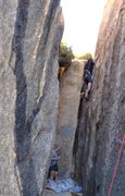 Rock Climbing Photo: Black Corridor