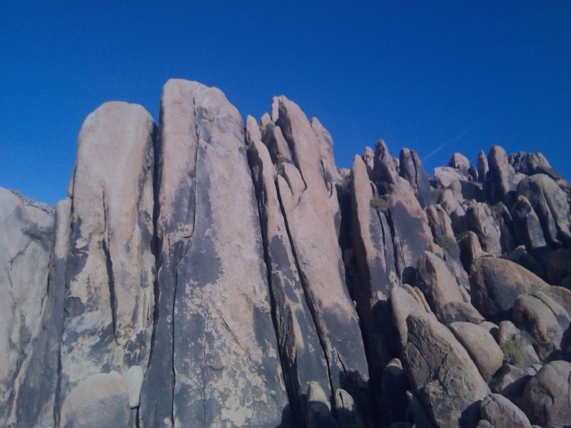 Rock Climbing Photo: Good granite!