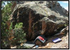 Rock Climbing Photo: Chigger Big problem beta.
