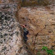 Rock Climbing Photo: Anarchy and an AK-47 Ten Sleep, WY