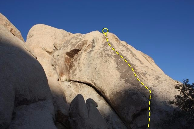 Where's Baldo? (5.8), Joshua Tree NP