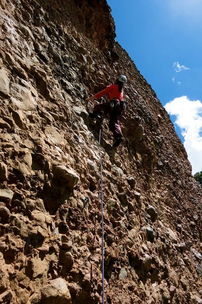 "It's not the best route on the wall but it's ""Better Than a Slap in the Belly with a Wet Fish"""