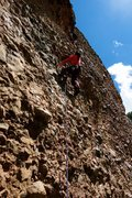 Rock Climbing Photo: It's not the best route on the wall but it's &quot...