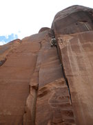 Rock Climbing Photo: Peter Metcalf givin it the ole two step