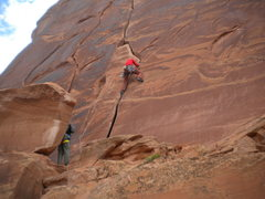 Rock Climbing Photo: Gunfight at the Hackattack Corral