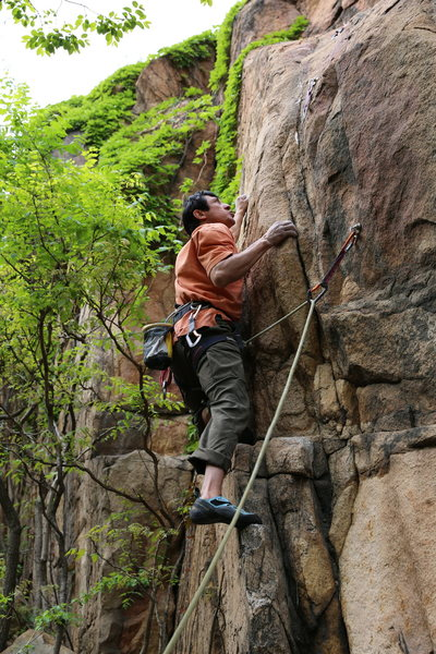 北京后花园 后白虎涧 Tree Spring Wall, Changping, P.R. China