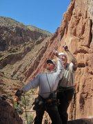 Rock Climbing Photo: Harry and Jose
