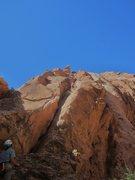 Rock Climbing Photo: Jim and Shingo ..second ascent