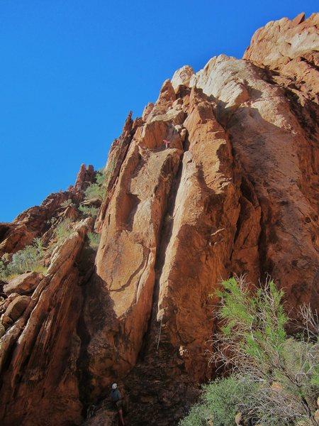 Rock Climbing Photo: Second ascent Jim and Shingo