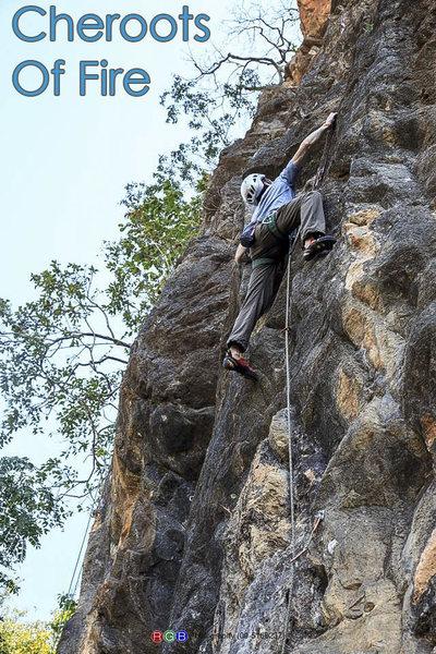 Rock Climbing Photo: Climbing Cheroots of Fire. Photo by Shin Kaung Mya...