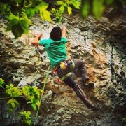 Rock Climbing Photo: Der Squeal to Der Stihl in Rifle