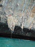 Rock Climbing Photo: deep water soloing in southeast asia