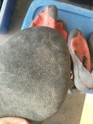 Rock Climbing Photo: All right shoes look like this