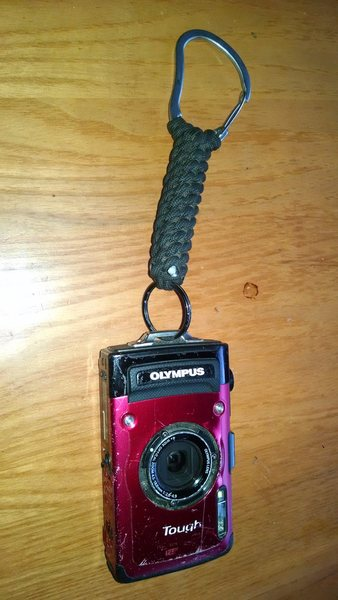 Rock Climbing Photo: The Timex of Cameras