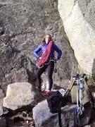Rock Climbing Photo: New rope