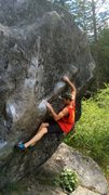 Rock Climbing Photo: Yosemite highball. Great moves, awesome stone, sce...