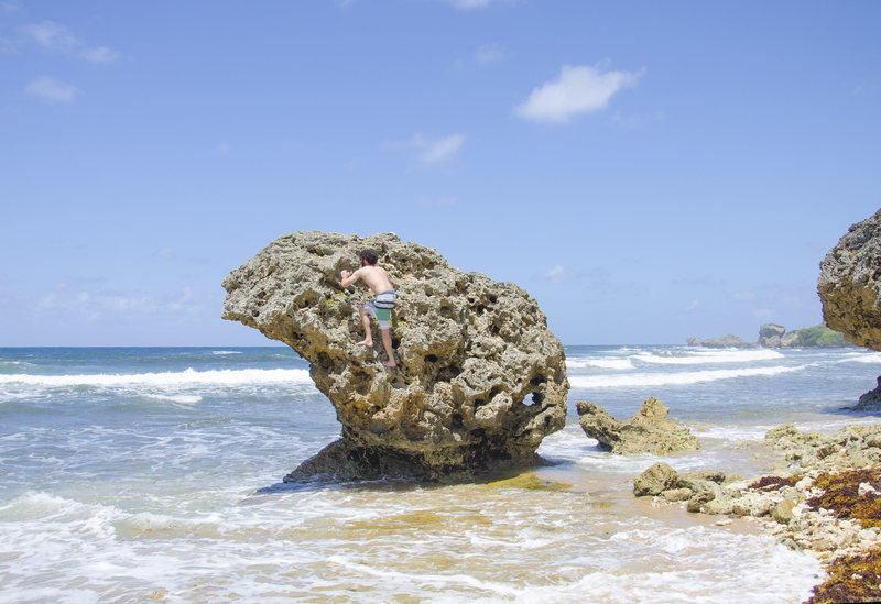 Rock Climbing Photo: Not sure if this rock has a name, I'm sure it must...