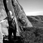 Rock Climbing Photo: At the base of Great Red Book (5.8) Red Rocks