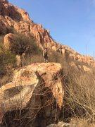 Rock Climbing Photo: 北京后花园 后白虎涧 Bouldering, Changping...
