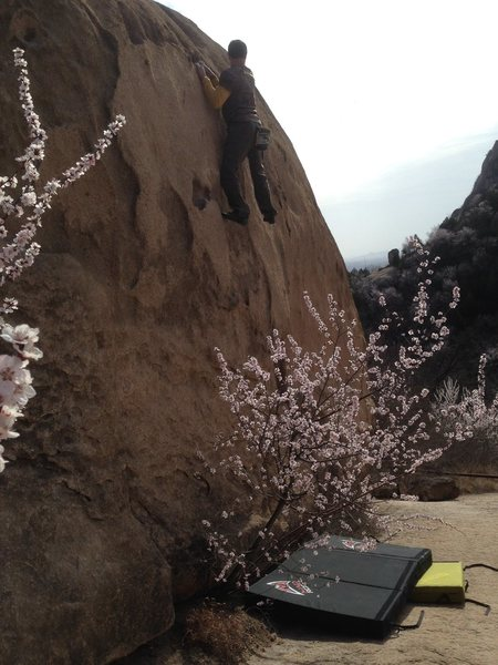 北京后花园 后白虎涧 Bouldering, Changping, P.R. China