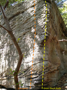 Rock Climbing Photo: Photo of the arrete
