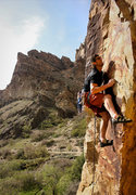 Rock Climbing Photo: The crux done a bit differently / easier than the ...