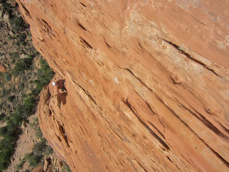 Rock Climbing Photo: Jose on route