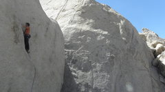 Rock Climbing Photo: Alex Kendrall leading T-N-T.  Photo posted with pe...