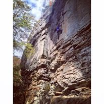 Rock Climbing Photo: Eureka @ RRG Kentucky