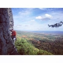 Rock Climbing Photo: View from pitch two on Something Interesting @ the...