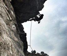 Rock Climbing Photo: Dog House Wall - Big Dog (12C)