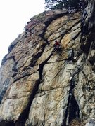 Rock Climbing Photo: Left Wire - Unknown 11a