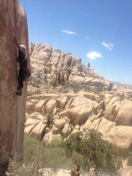 Rock Climbing Photo: Perfect splitter