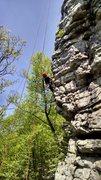 Rock Climbing Photo: Jose on White Arete