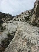 Rock Climbing Photo: Intense action shot.