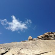 Rock Climbing Photo: Even the clouds look like eagles out here.