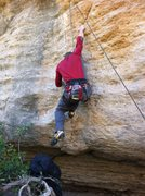 "Rock Climbing Photo: Beta for the start of ""The Tree"" route. ..."